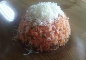 Rýži dáme vařit pod pokličkou na 14 minut (na obalu je uvedeno 17 minut doba varu, já dala míň, protože se pak rýže ještě dodělá v…