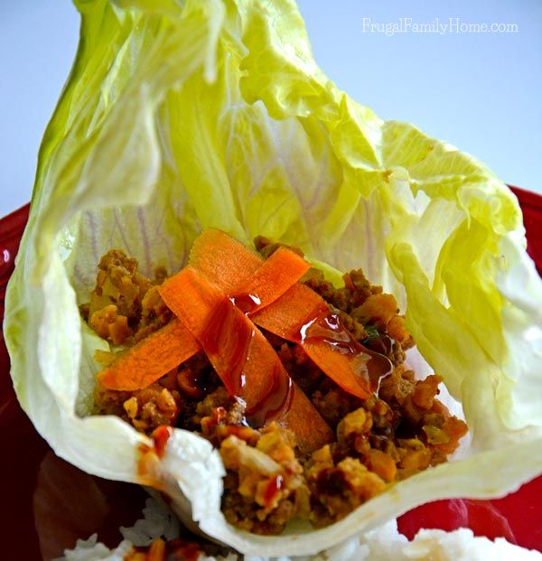 Looking for a quick and easy recipe for dinner tonight? Check out this easy no oven needed recipe for Ground Beef Lettuce Wraps.