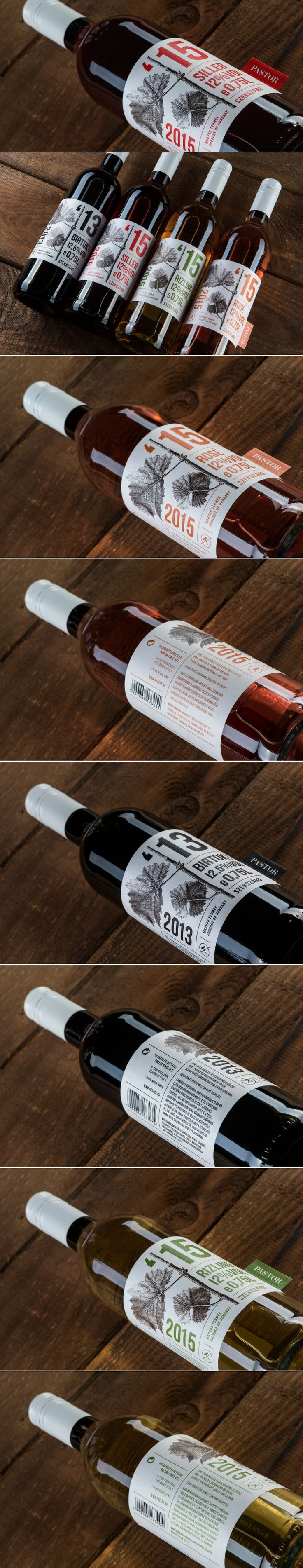 Pastor Winery's Wine with Screw Cap — The Dieline | Packaging & Branding Design & Innovation News