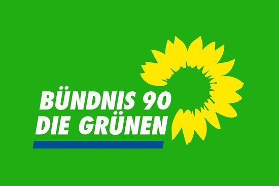 Logo der Partei Bündnis 90/Die Grünen