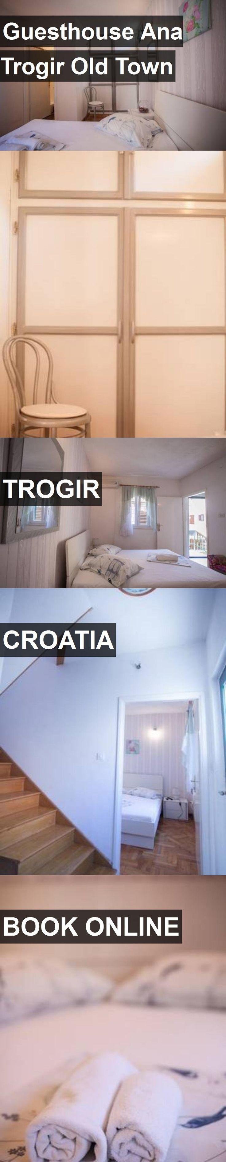 Hotel Guesthouse Ana Trogir Old Town in Trogir, Croatia. For more information, photos, reviews and best prices please follow the link. #Croatia #Trogir #travel #vacation #hotel