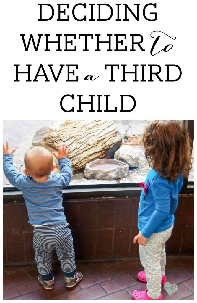 Deciding Whether to Have a Third Child - Breastfeeding Needs