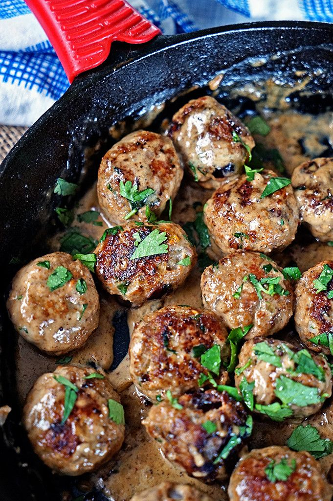 Persian Meatballs with Dried Cherries and Pistachios.