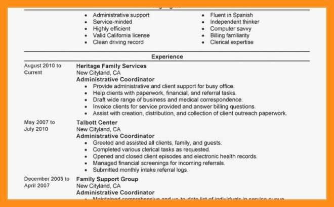 23 Patient Care Coordinator Job Description Resume In 2020 With