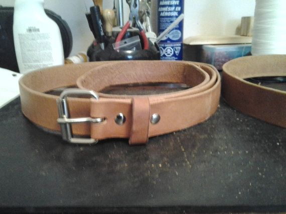 Outdoor Rec And Work Belts 3/4 To 2 1/2 in. Wide by MakwaMoccasins, $9.00