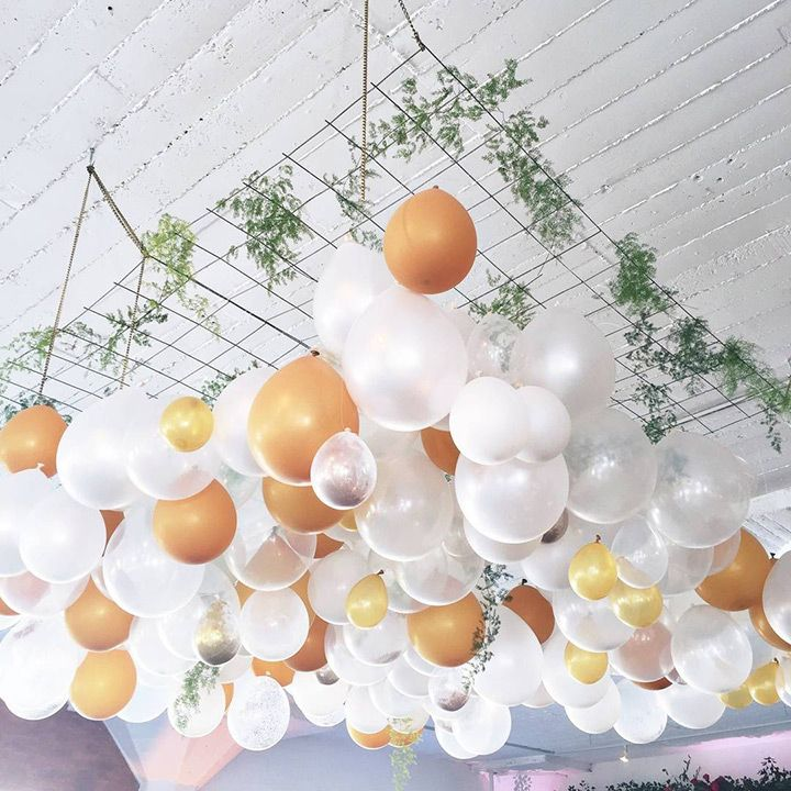 gorgeous balloon hanging wedding decor  ~  we ❤ this! moncheribridals.com