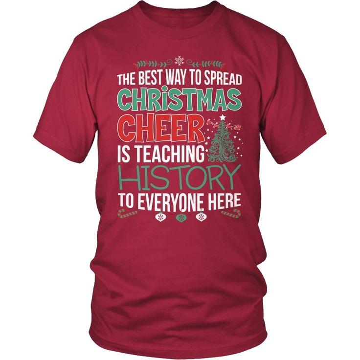 History Teacher - Christmas Cheer