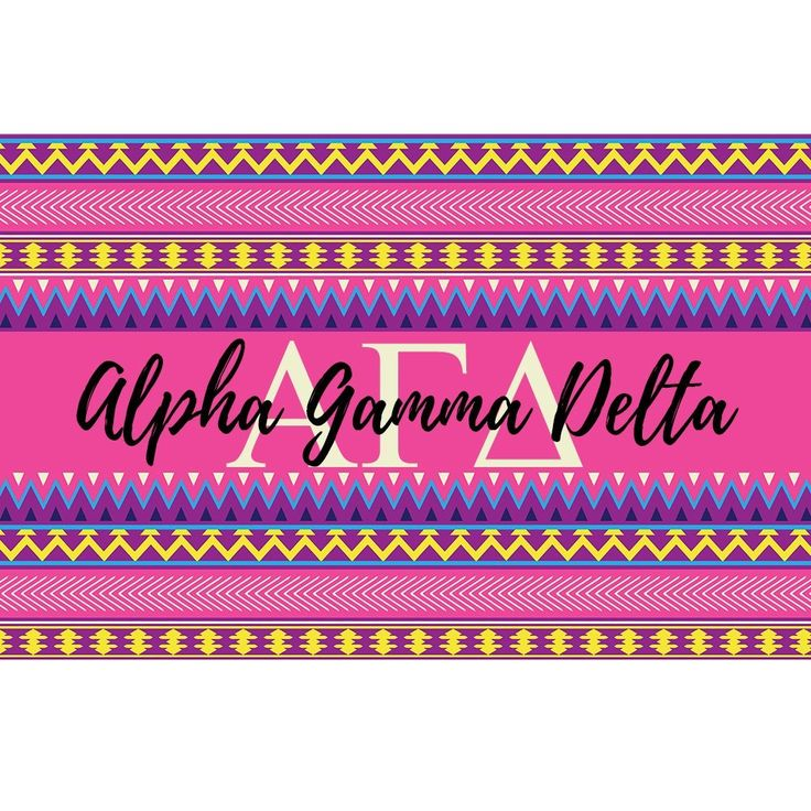 Alpha Gamma Delta sorority 3 x 5 foot flag - Pink and purple Aztec - Room decor. My flags are designed by me so you will find these designs no where else ! Decorate your dorm, sorority house or yard with this large, colorful flag. A large 3 x 5 feet, these are a definite statement flag ! -Indoor / Outdoor flag. 100% Polyester Mesh flag. 36 inches x 60 inches. -Two grommets on left side for hanging and are printed with dye sublimation and should be hung outside for short times for display…