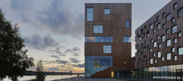 Umeå Art Museum Shortlisted for Sweden's Most Prestigious Architectural Award :: Henning Larsen Architects