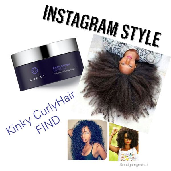 Quot Kinky Curly Hair New Product Find Monat Quot By Danic812 On Polyvore Natural Black Hairstyles