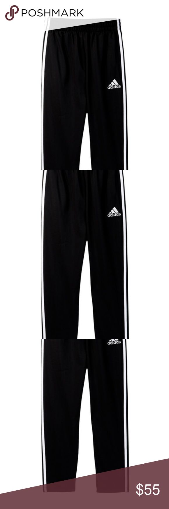 NWT women's adidas Trainer Pant Black size Large New women's adidas Trainer Pant Black size Large Inseam of 32 inches adidas Pants Track Pants & Joggers