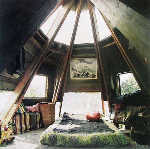 wow mooie zolder kamer
