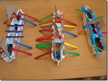 Thailand Floating Boats Activity