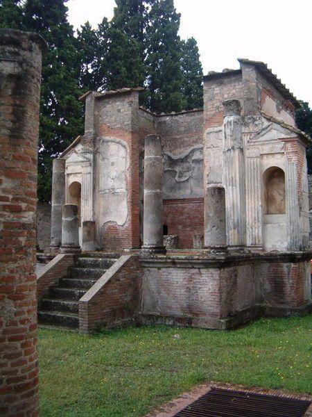 Pompeii - Temple Of Isis
