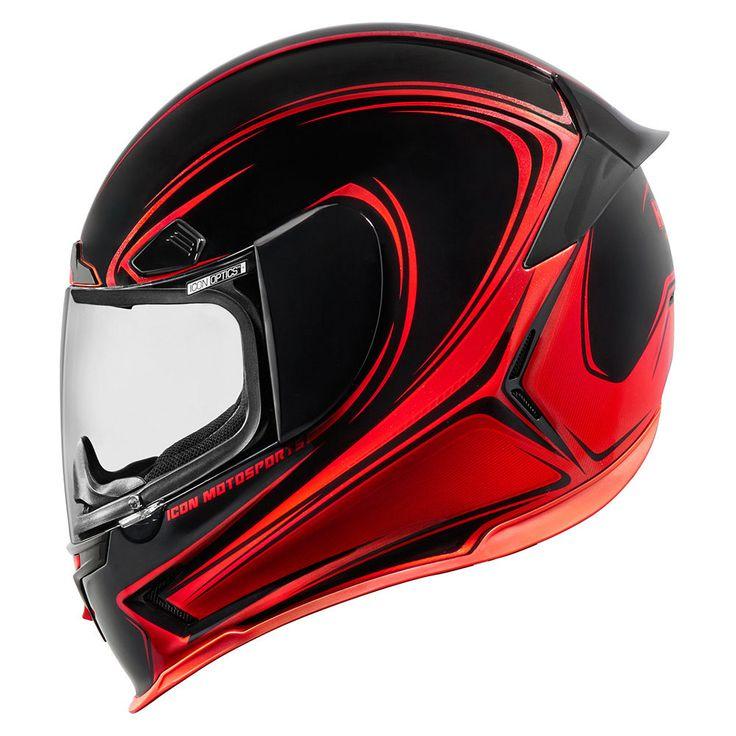 Airframe Pro Halo - Red   Helmets   Icon Motosports - Ride Among Us