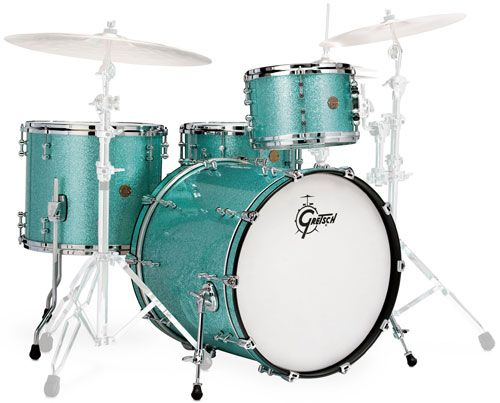 Gretsch Drums NCE824S New Classic Limited Turquoise Sparkle                                                                                                                                                                                 Plus