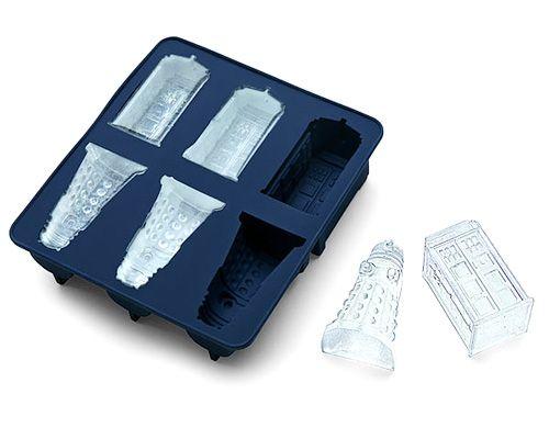Лоток для льда Доктор Кто