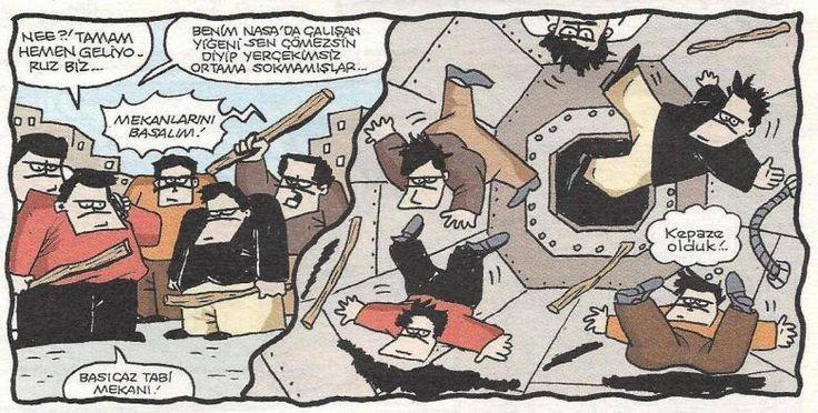 #karikatür #komik #cizim #kavga