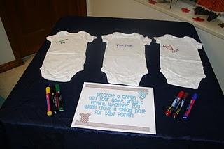 Onesie Decorating Station | Baby Shower Planning | Pinterest | Onesie  Decorating, Babies And Babyshower