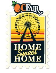 This summer, indulge in deep-fried oreos, bacon everything, and carnival rides. The OC Fair runs July-August for some good Home, Sweet, Home fun!