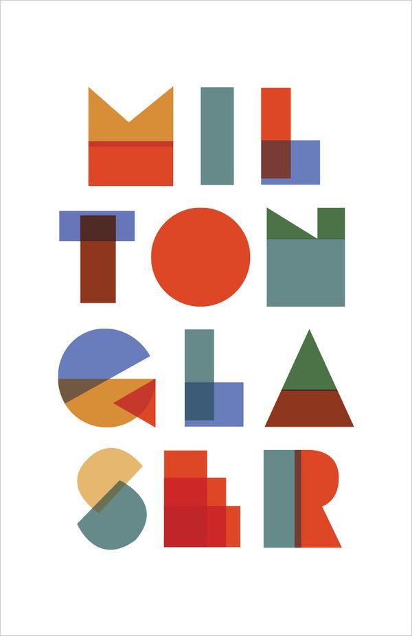Milton Glaser history poster by Wade Lam, via Behance: