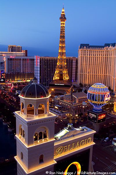 Las Vegas, NV - dream of glitzy, upscale resorts, dance clubs, casinos, eye-popping reconfiguring of the world's most iconic destinations. You'll never be bored in Vegas!