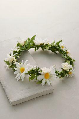 Anthropologie Spring Petals Flower Crown