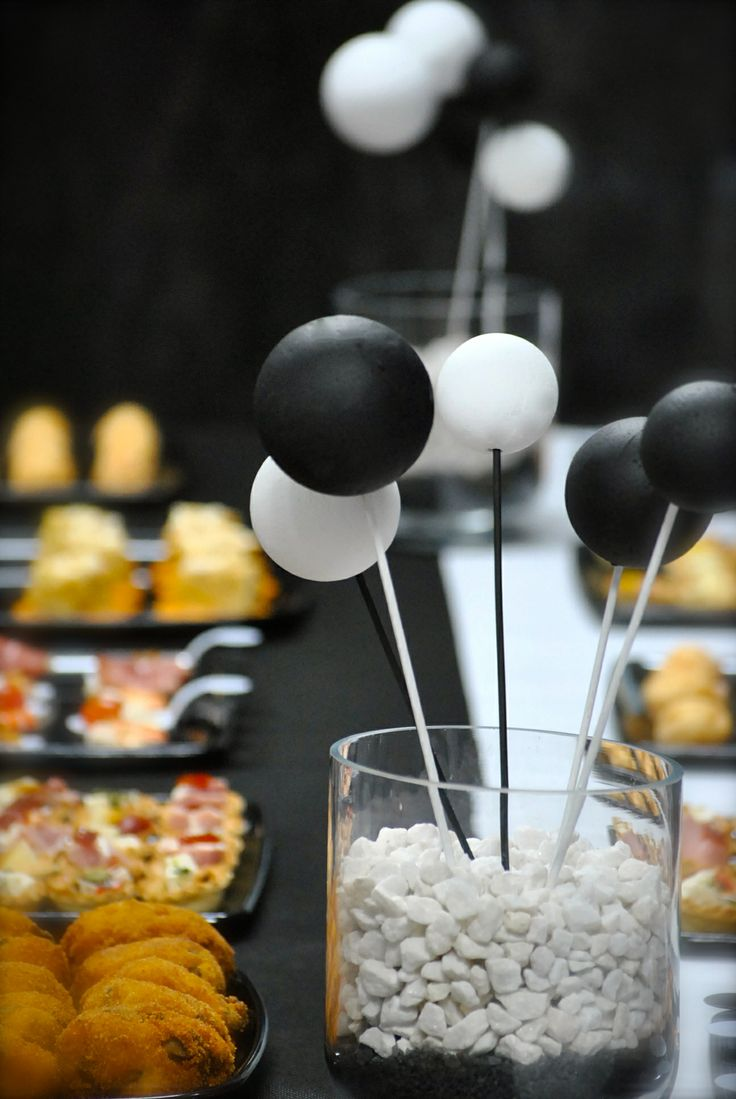 fiesta temtica cumpleaos blanco y negro black and white th theme party