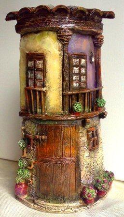 855 best images about tejas decoradas on pinterest - Tejas pequenas decoradas ...