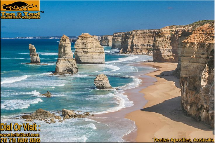 Twelve Apostles - Australia ...!!! Beautiful Beach In Australia ...!!! #Best #Taxi And #Driver #Service #Provider #Ahmedabad Call : 78-78-886-886/78-78-884-884, www.tea2taxi.com For More Information #Click Here - http://tea2taxi.blogspot.in/…/twelve-apostles-one-of-beauti…