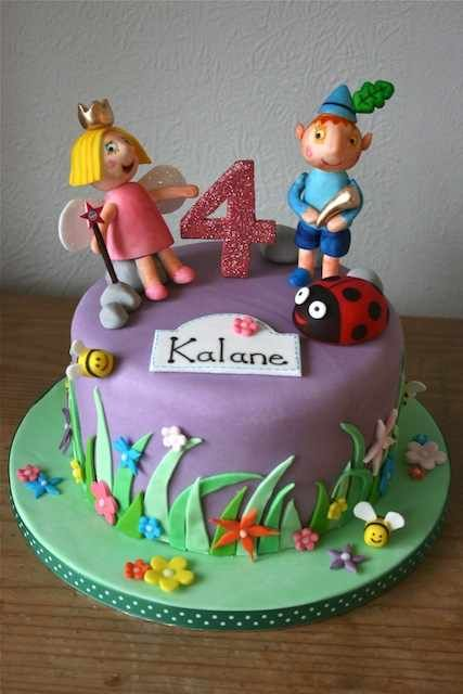 ben and holly little kingdom birthday cake - Google Search