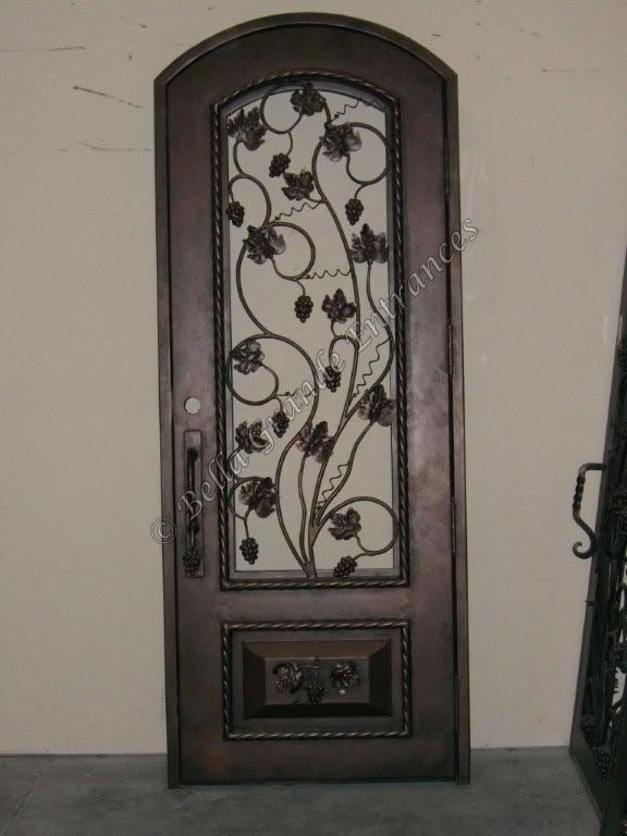 Used Wine Cellar Iron Doors Bella Grande Entrances