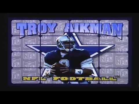 Troy Aikman NFL Football - Atari Jaguar