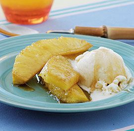 Clove-Studded Roasted Pineapple Recipe — Dishmaps