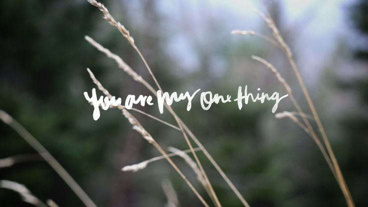 "As a child, Hannah McClure grew up deep in the country, which is where she first discovered how to truly have friendship with God. This season of her life sparked the joyful message behind her song ""You Are My One Thing.""  Watch her share the full story behind this song. ‪#‎WeWillNotBeShaken‬ // http://bit.ly/BMwwnbs"