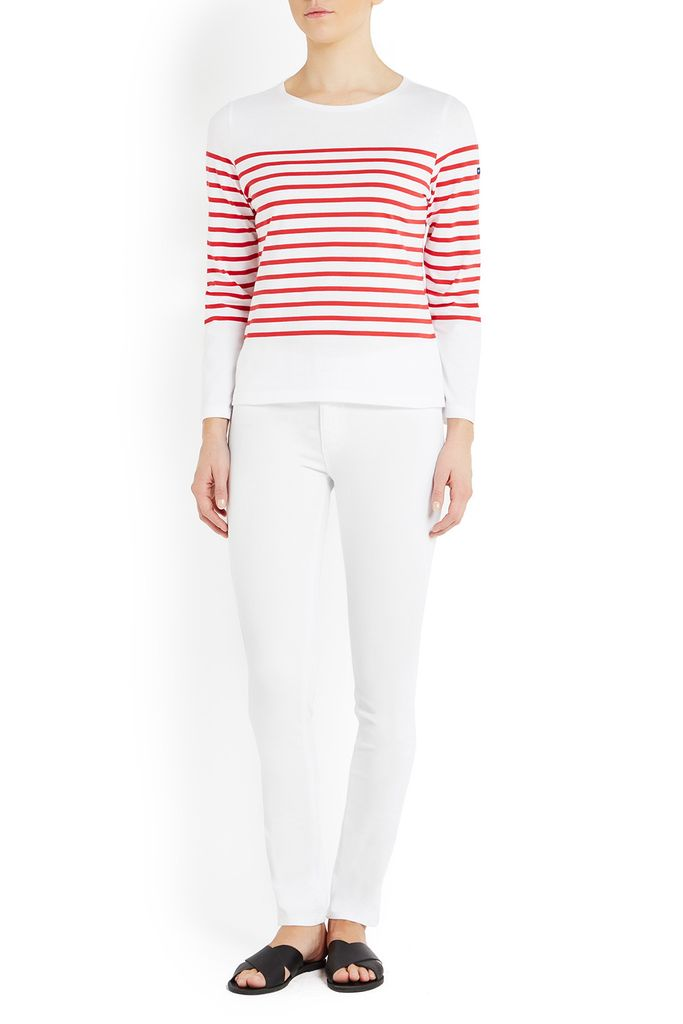 Mediterranee Breton Striped Cotton T-Shirt