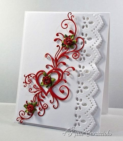 Heart Flourish and Roses and Blog Candy Winner