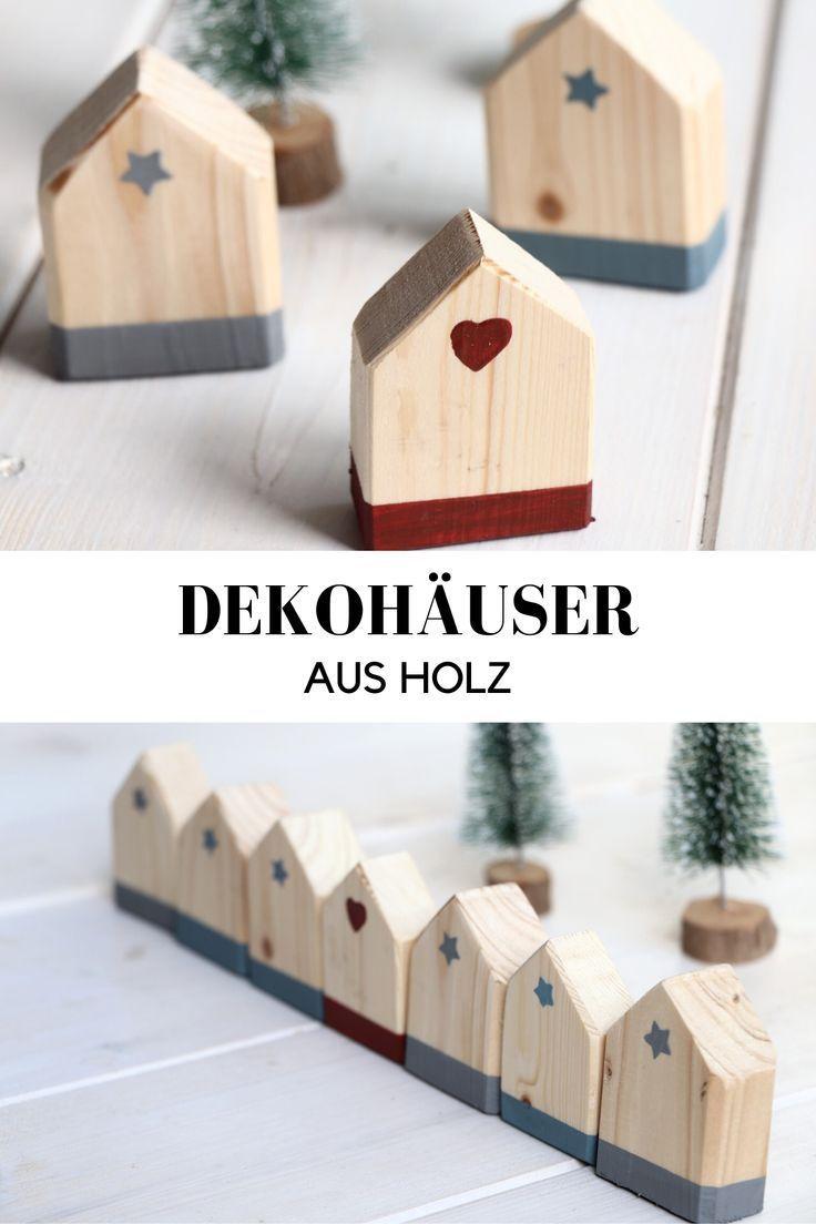 Diy Holzhäuser Basteln Lavendelblog Kinder Basteln Holz Dekoideen Zum Selbermachen Holz Deko Selber Machen