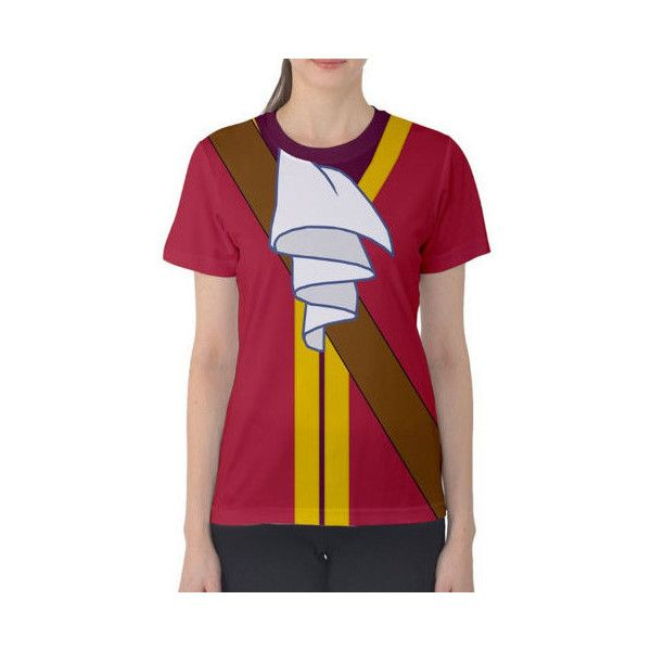 Women's Captain Hook Peter Pan Inspired Shirt ($40) ❤ liked on Polyvore featuring tops, t-shirts, silver, women's clothing, checkered pattern shirt, peter pan shirt, checkerboard shirt, shirt top and purple tee