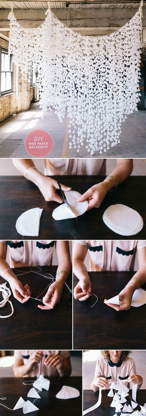 Wedding on a budget? These diy decorations will make your wedding beautiful…