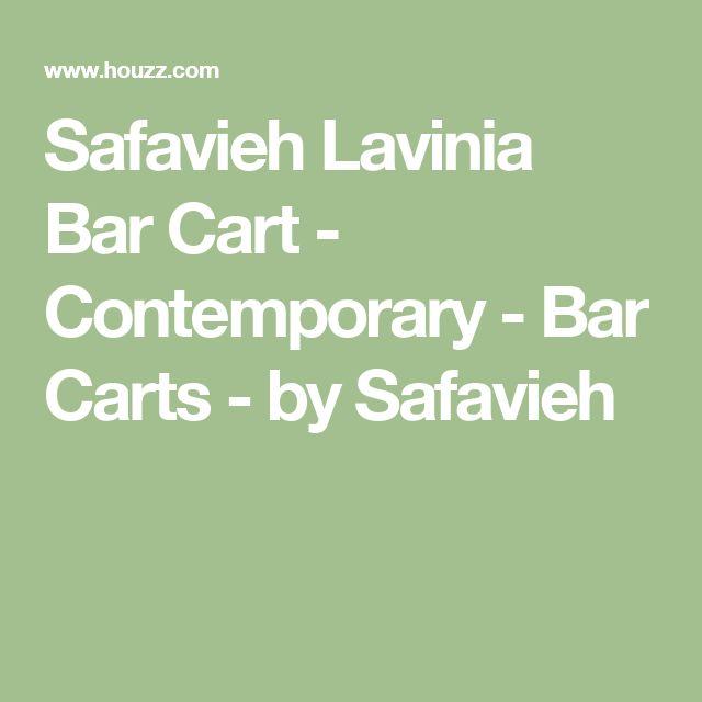 Safavieh Lavinia Bar Cart - Contemporary - Bar Carts - by Safavieh