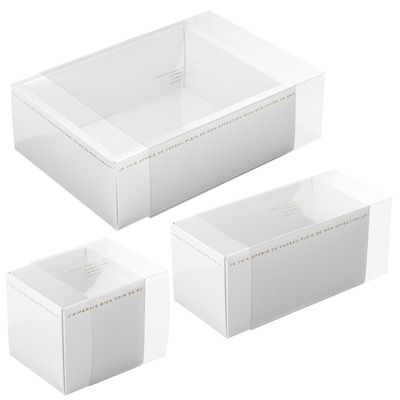 ホワイトスリーブBOX ギフト、ラッピング用品、包装資材通販 HEADS ヘッズ