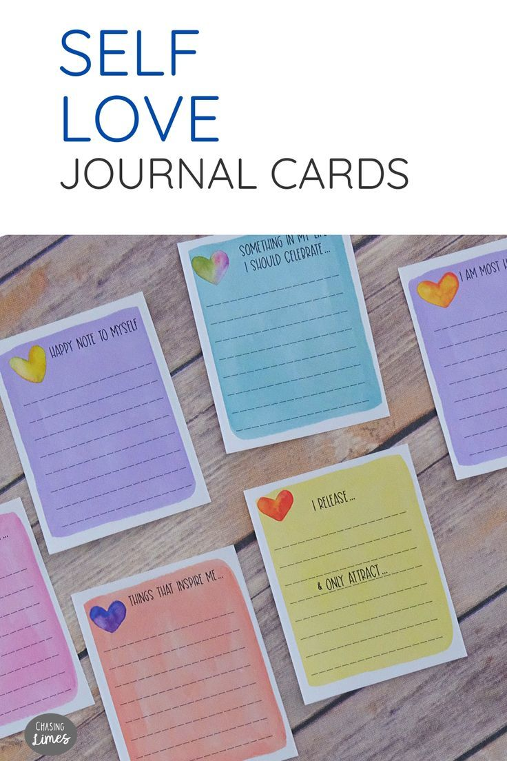 Self Love Printable Journal Cards Self Care And Etsy In 2020 Journal Cards Printable Journal Cards Journal Printables