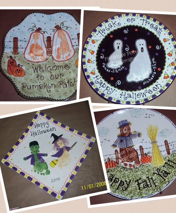 1000 images about hand and footprint ideas on pinterest for Handprint ceramic plate ideas
