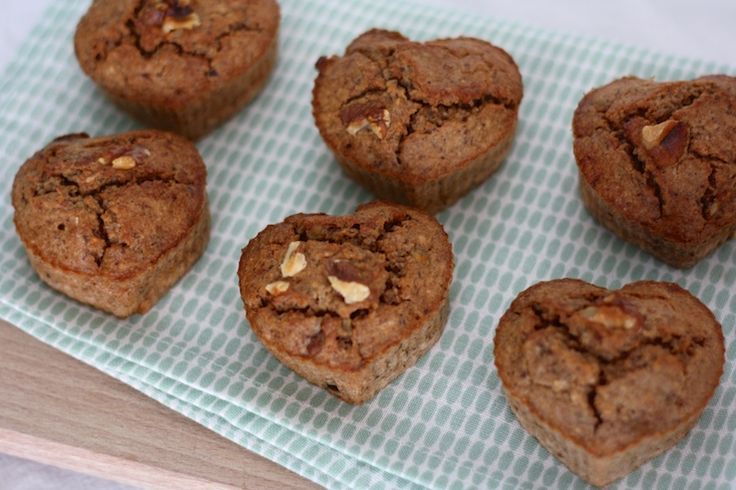 Healthy baksel: Een makkelijk recept voor gezonde havermoutmuffins. Lekker als ontbijt! #healthy #breakfast