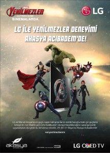 """Akasya Acıbadem'degerçekleşecek """"LG ile Yenilmezler Deneyimi"""" etkiliğinde Akasya Acıbadem ziyaretçileri """"Iron Man"""" zırhlarını deneyimleme şansını yakalayacaklar.  akasya yenilmezler etkinliği akasya yenilmezler etkinliği Anadolu yakasının cazibe merkezi Akasya Acıbadem, bu hafta sonu heyecan dolu bir interaktif deneyime ev sahipliği yapıyor. """"Hulkbuster Experience"""" sanal gerçeklik (Augmented Reality) uygulamasında katılımcılar efsanevi süper kahraman Iron Man'in Mark 42 ve Mark 44 Hulkbuster…"""
