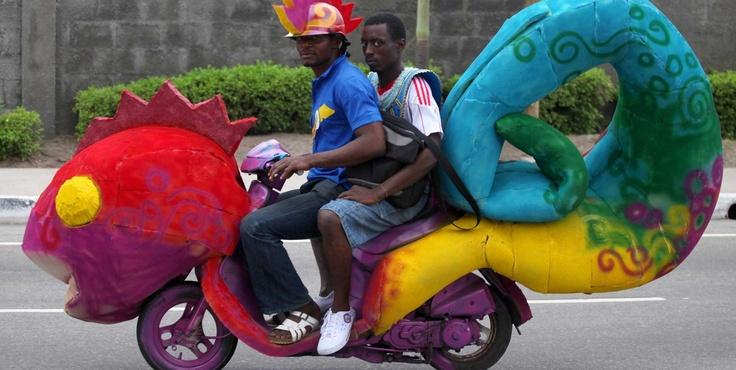 Bizarre transportation