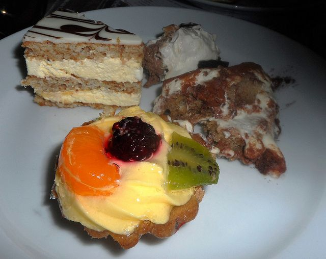 trofea grill desserts