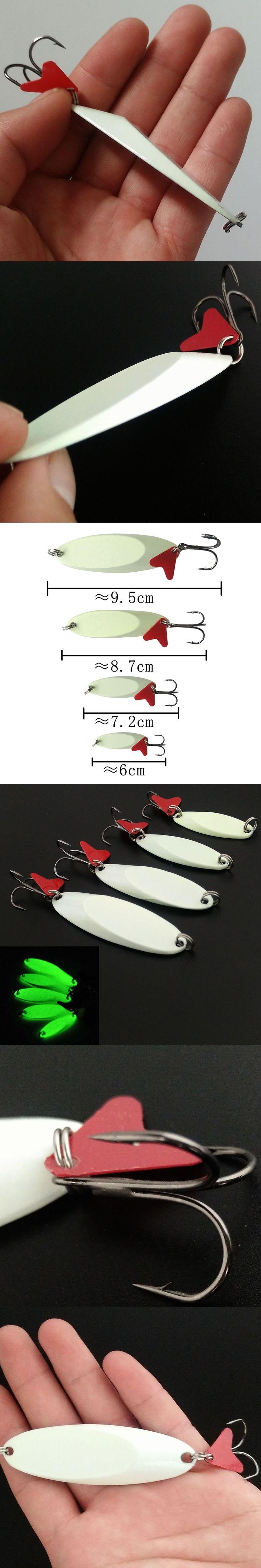 Metal Spinner Lure Spoon Carp Fishing Lure 7g/11/22g Luminous Hard Baits For Fishing Sequins Speaker Fishing Goods Accessories