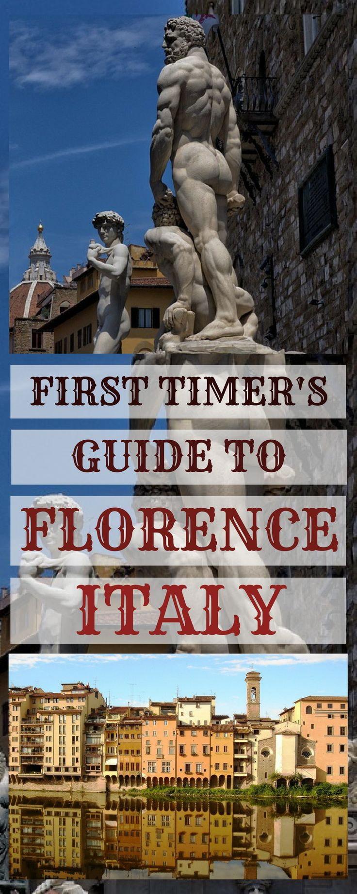 Florence Italy highlights - things to do and see in one day - Piazza Michelangelo, Ponte Vecchio, Piazza Signoria and many more!